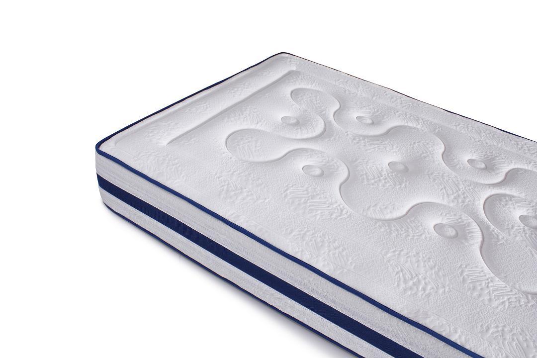 matelas adulte 80 90x190 200 viscoelastique a memoire de forme blue latex neuf ebay. Black Bedroom Furniture Sets. Home Design Ideas