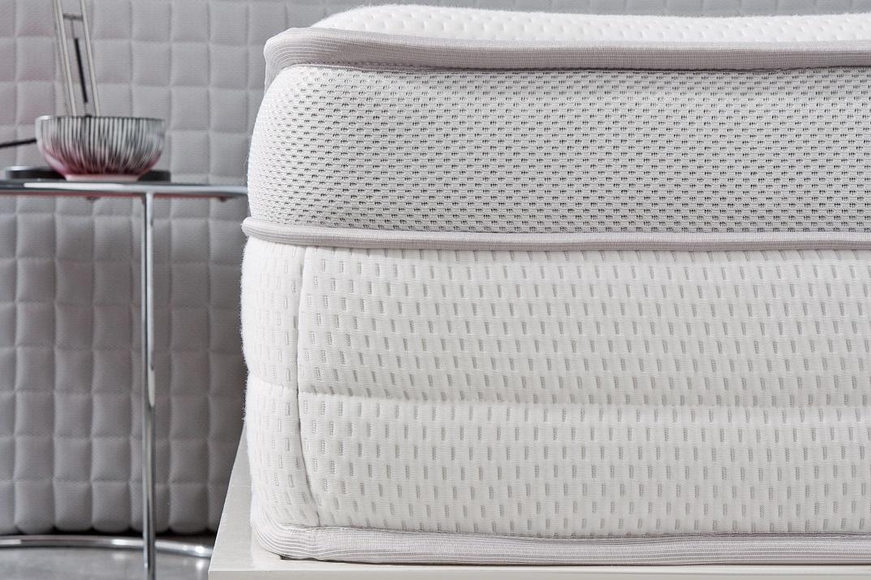 lit literie matelas epais mousse a memoire de forme bio latex 25 cm visco neuf ebay. Black Bedroom Furniture Sets. Home Design Ideas